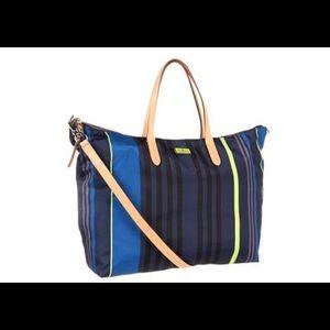 New defective Cole Haan Crosby Blue tote bag